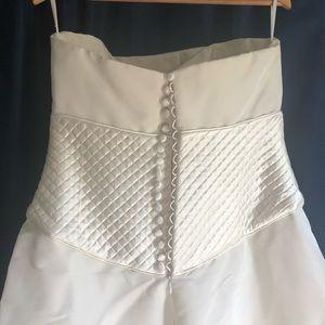 Peter Langner Dresses - Custom Peter Langner Wedding Gown 💯% Silk
